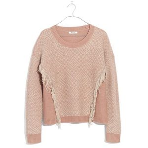 Madewell Reverse Diamond Pullover Sweater